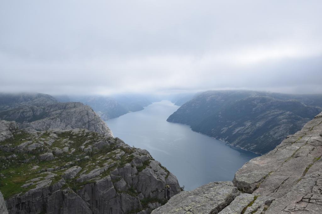 Ausblick auf den Lysefjord