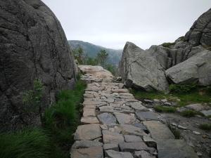 Wanderweg zum Preikestolen