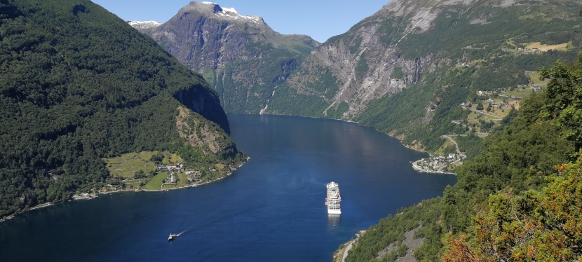 Wanderung zum Vesteråsfjellet –Geirangerfjord