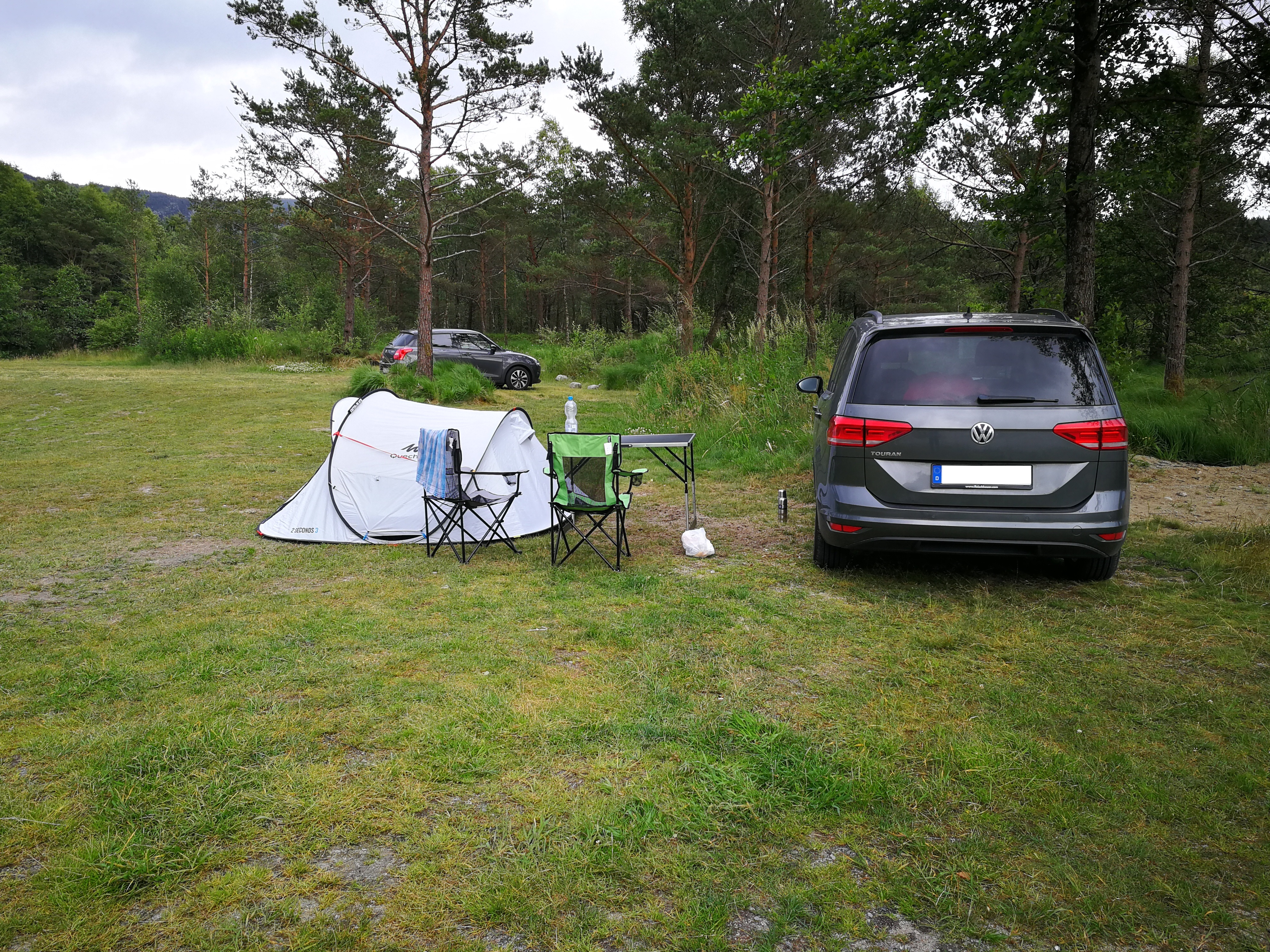 Campingplatz bei Preikestolen