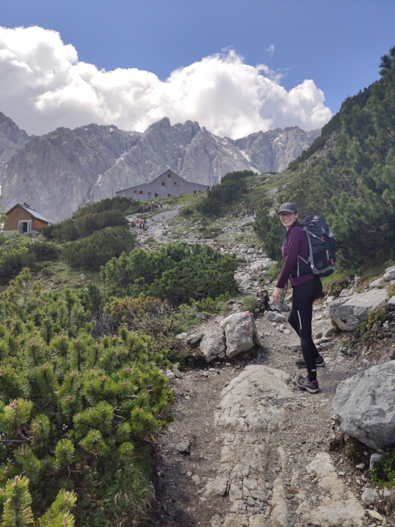 Aufstieg zur Coburger Hütte