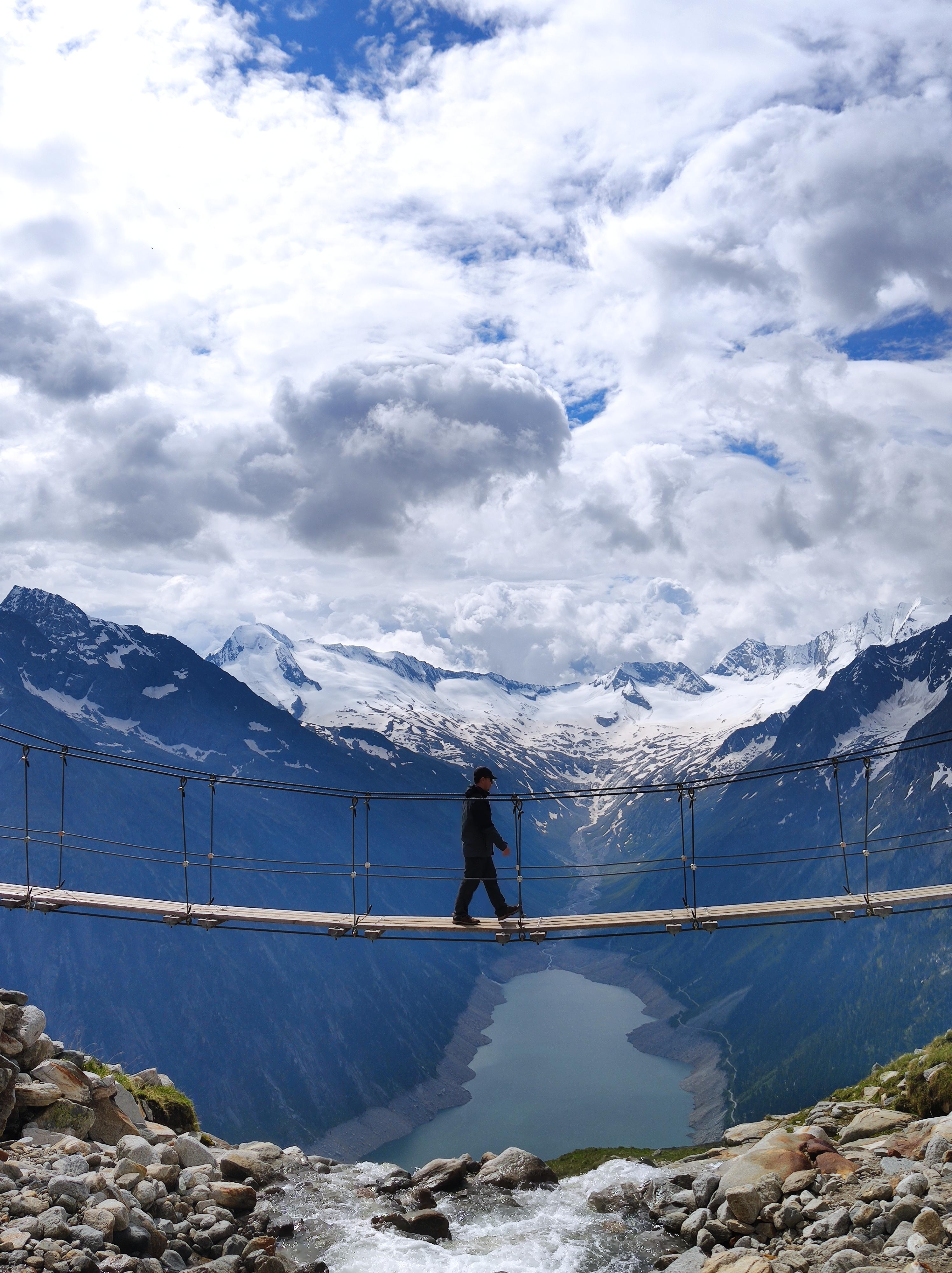 Instagram Hot-Spot: Kebema Panoramabrücke im Zillertal