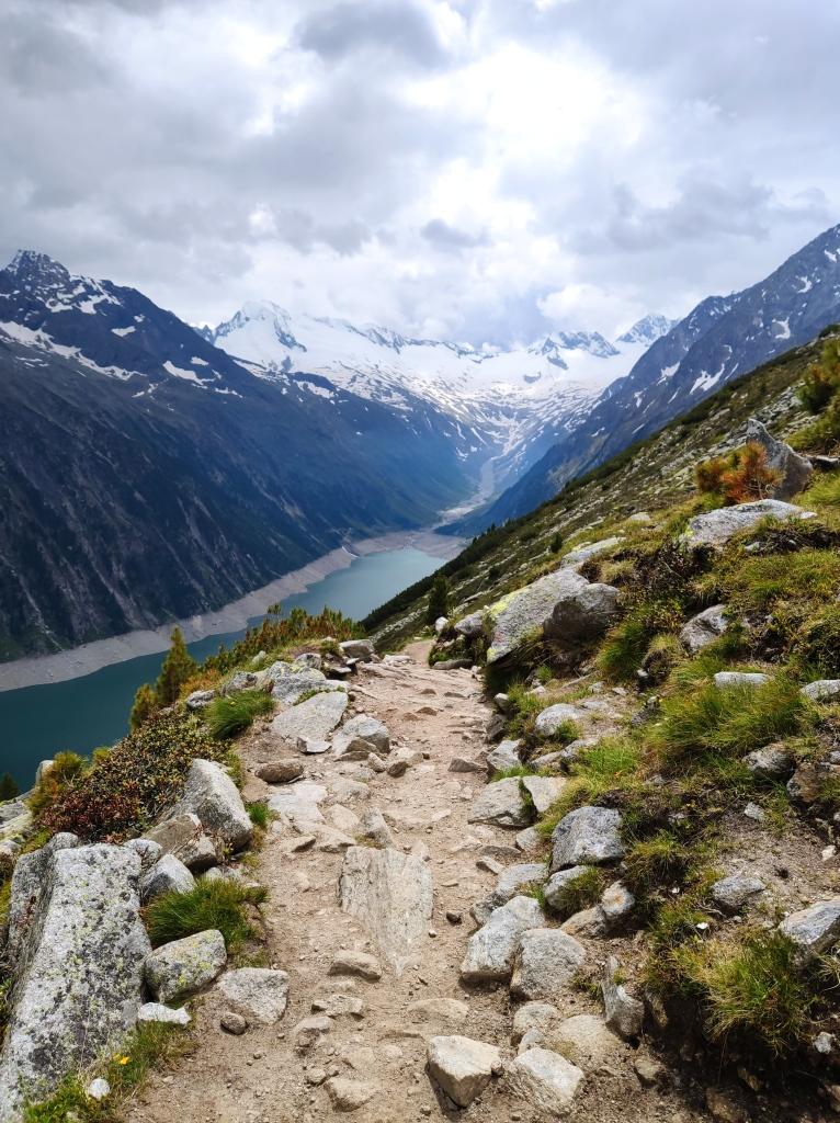 Wanderstrecke zur Olpererhütte