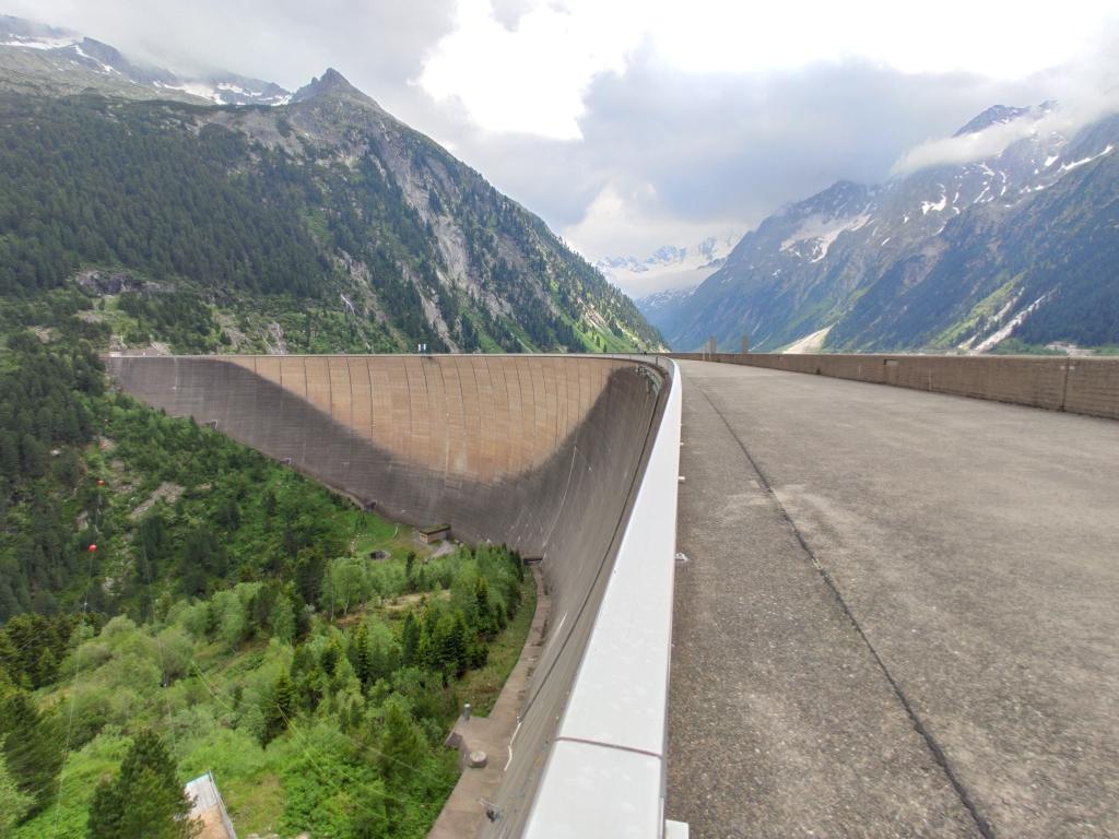 Staudamm Schlegeisspeicher