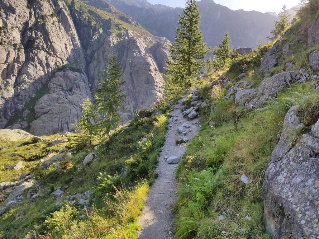 Wanderweg zur Triftbrücke