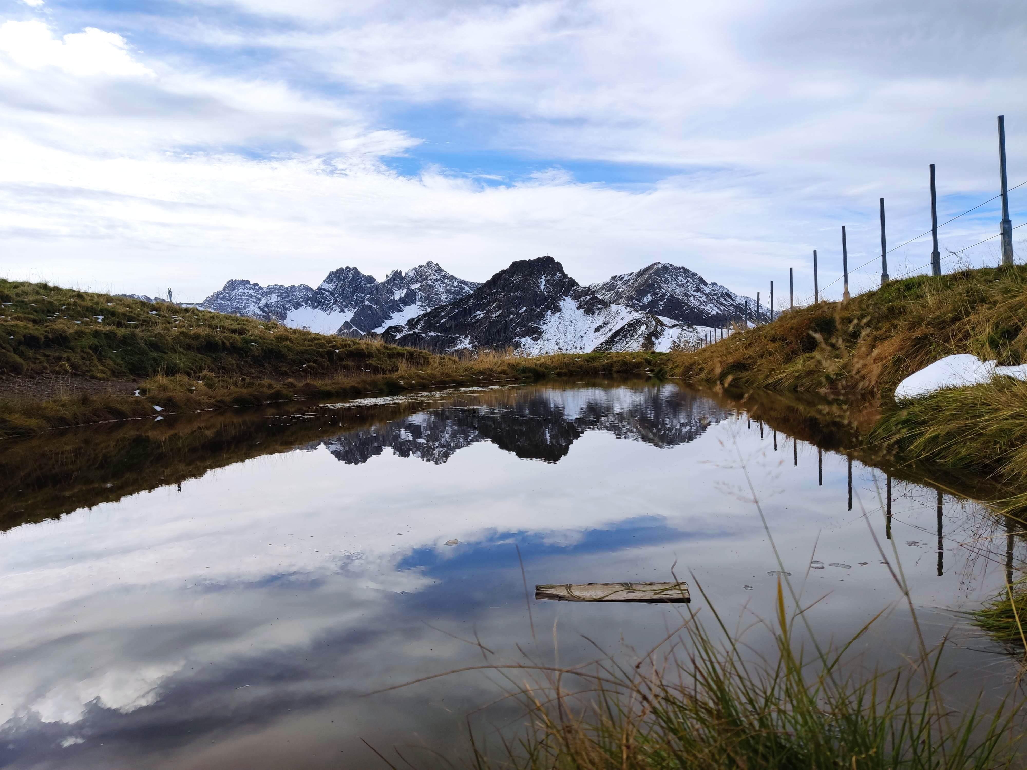 Kleiner See am Fellhorn