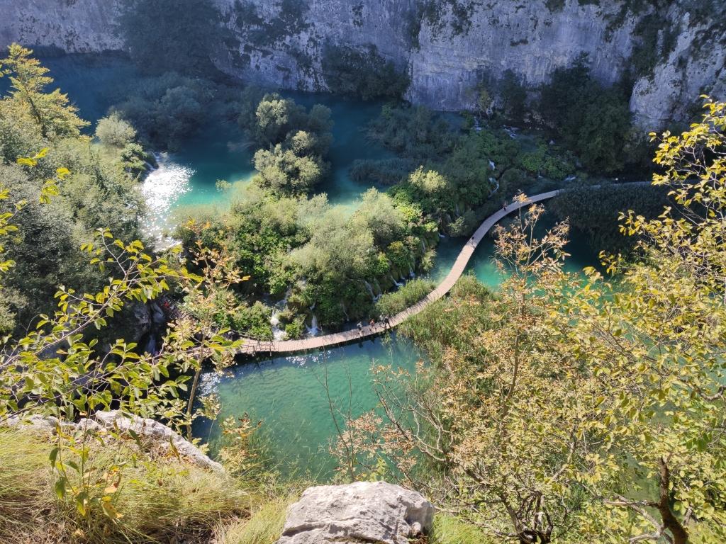 Untere Seen Nationalpark Plitvicer Seen
