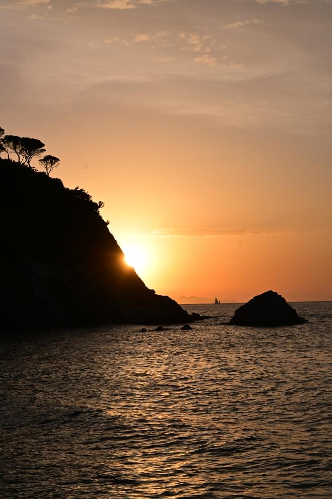 Sonnenuntergang, Spiaggia di Acquaviva