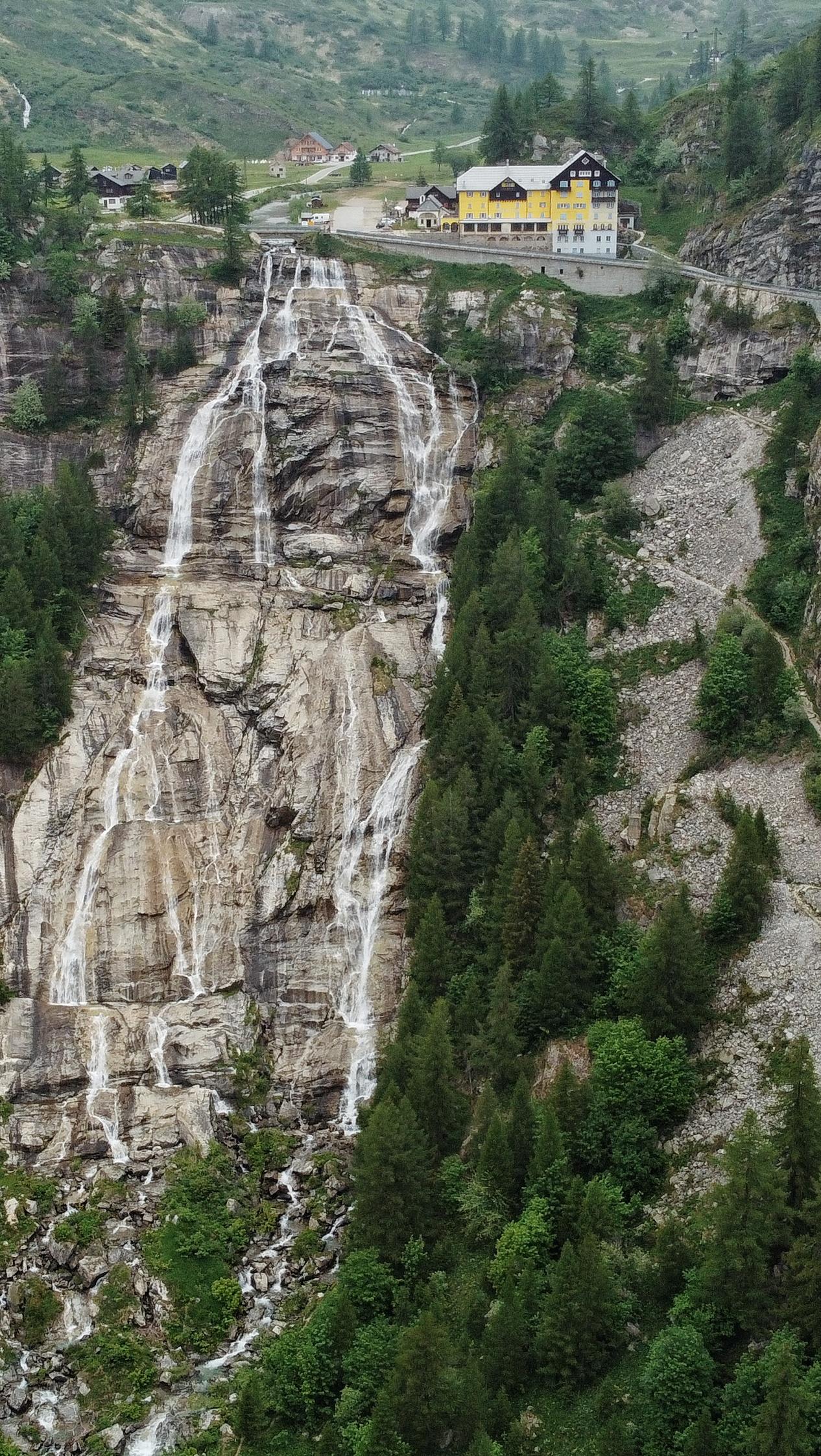 Cascata del Toce, Wasserfall